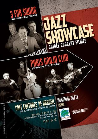 Graphisme / Flyer Concert Jazz