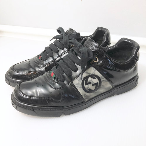 Gucci Patent Leather Sneaker Mens Size IT 7 US 8