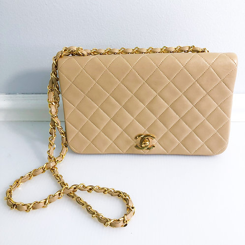 Chanel Single Flap Quilted Handbag