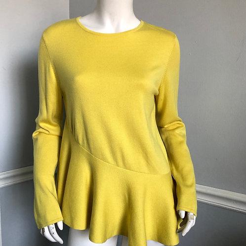 St John Luxury Knits Spring Cashmere Silk Blend Top Size M