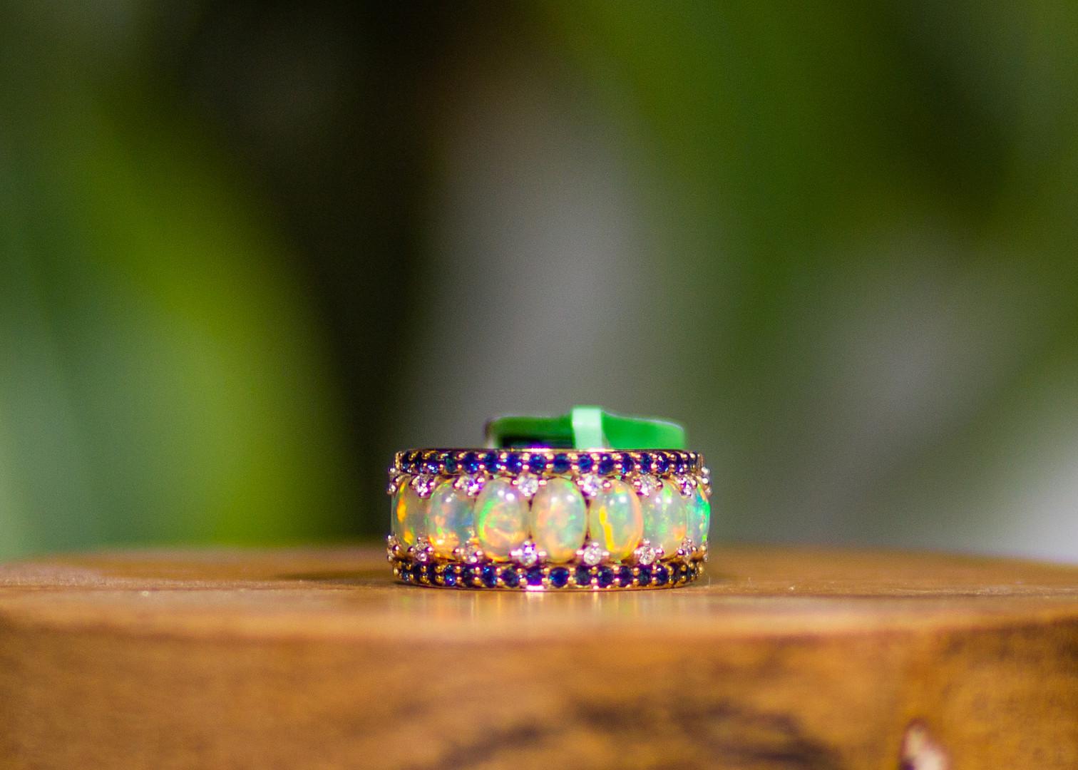 7 Opal Ring