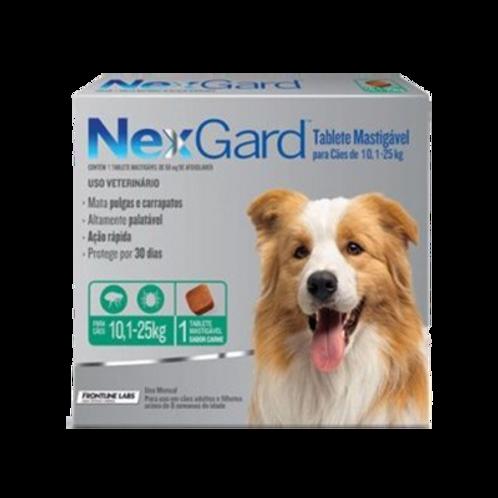 Antipulgas Nexgard de 10.1 a 25 kg para perro