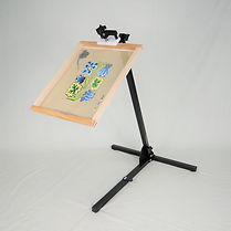 Needlework System4 : Floor Stand with Frame Clamp