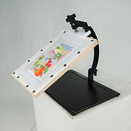 Needlework System4 | Lap Stand with Scroll Frame