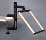 Needlework System4 | Table Clamp Stand with Belt Scroll Frame