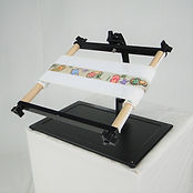 Needlework System4 | Lap Stand with Belt Scroll