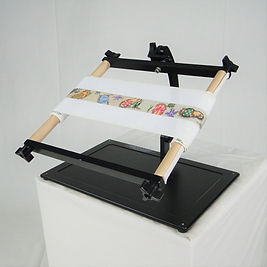 Needlework System4 | Lap Stand with Belt Scroll.JPG