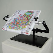 Needlework System4   Lap Stand with Q-Snap Holder