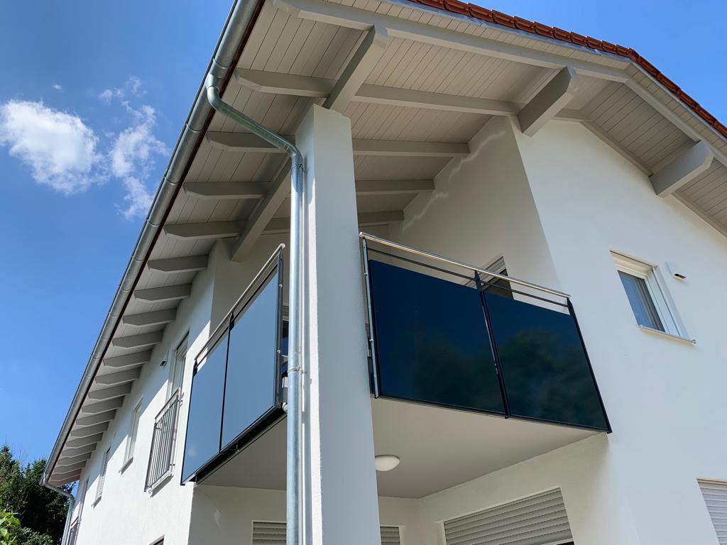 Balkon von Lehmeier Glas und Metall Design