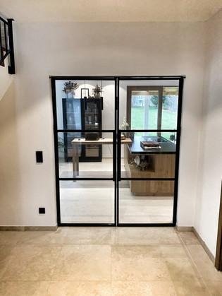 Stahl-Loft-Tür