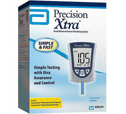 DSS Precision Xtra Blood Glucose