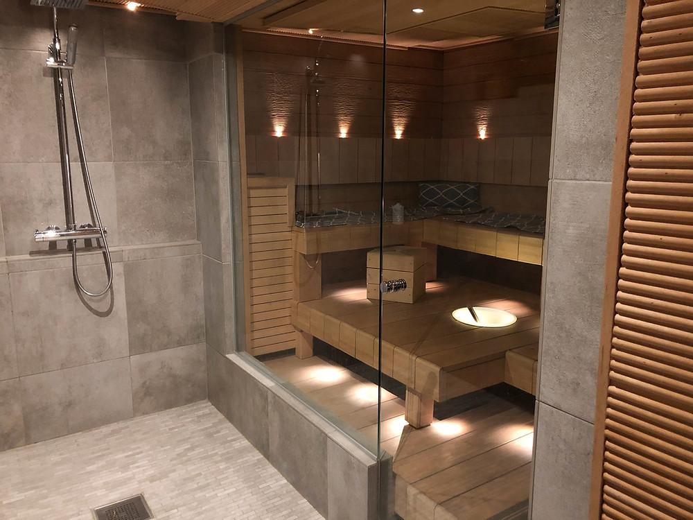 diy sauna benches aspen, haapalauteet