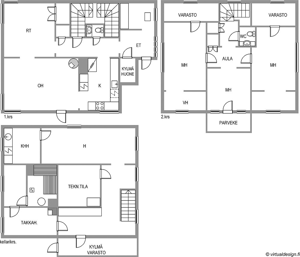 Pohjapiirros, omakotitalo tampere, sisustusblogi, remontointi, renovation,  floor plan, interior design blog Finland