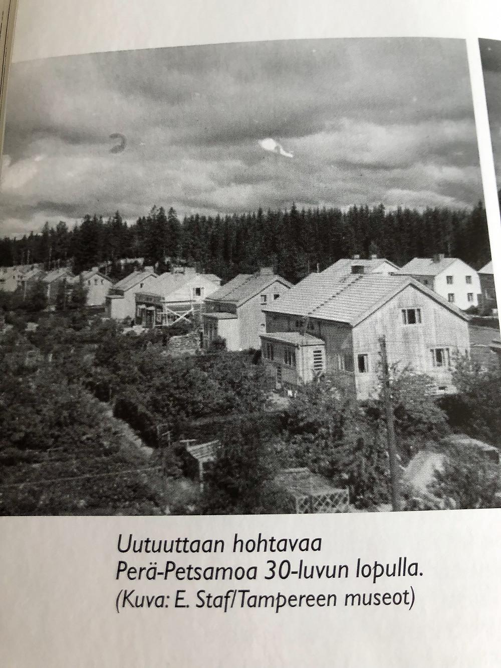 Tampereen Petsamo 30-luvulla