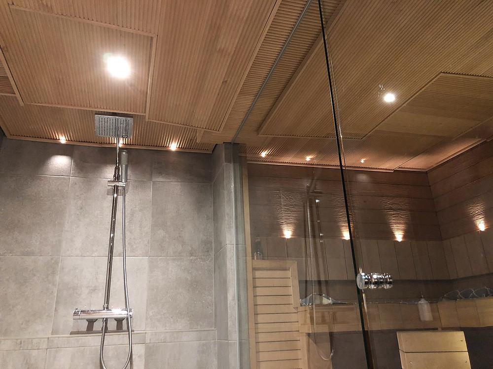 DIY sormipaneelikatto, DIY finger panel roof, svedbergs Quadra