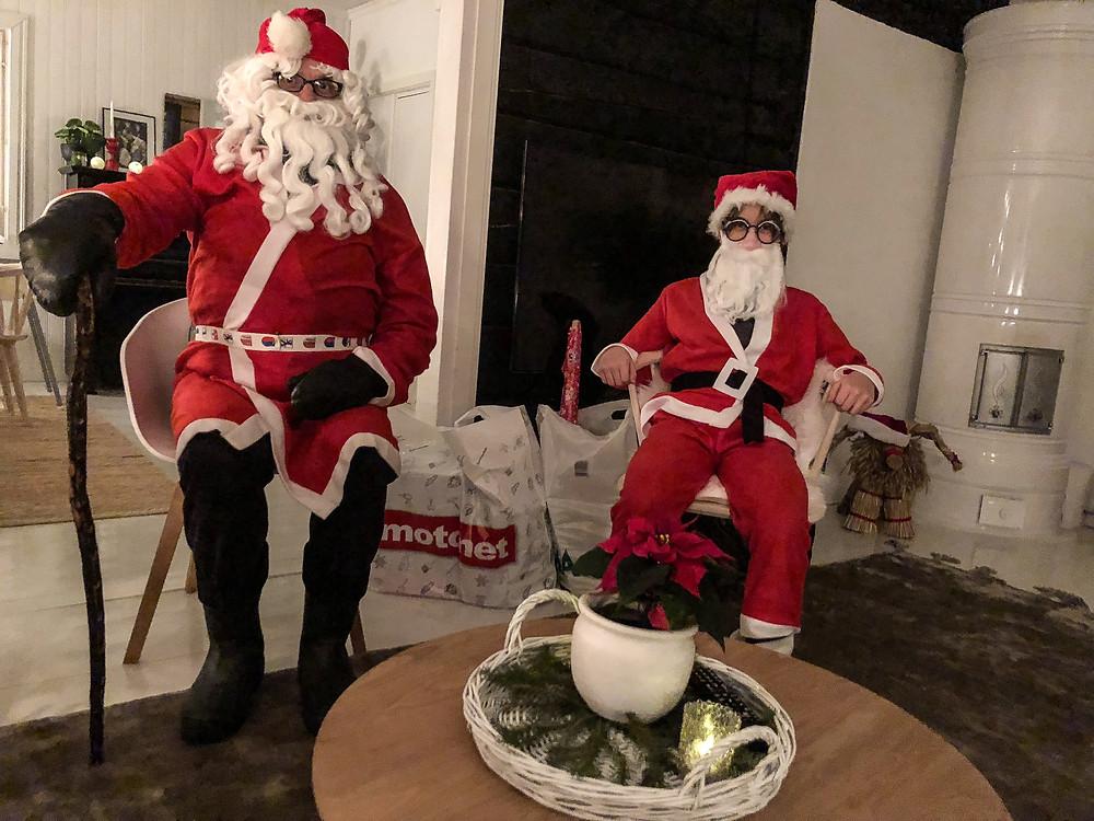 joulupukki kotikäynti, santa claus home visit