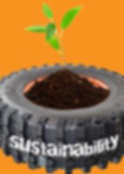 off road tires - recicle