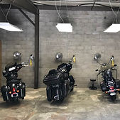 indoor motorcycle parking