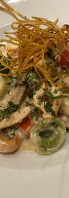 Tortellini Chicken Alfredo