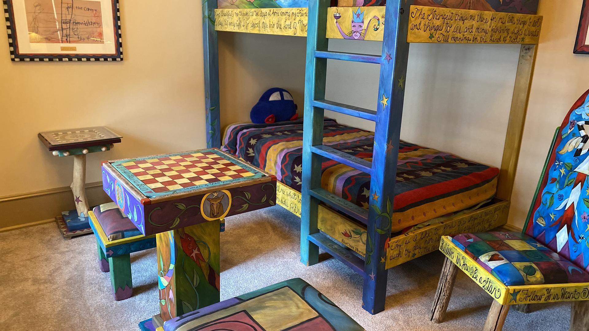 David Ahmanson Suite for Kids