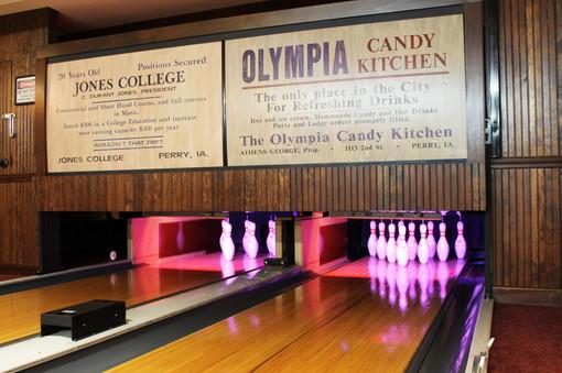 """Arthur """"Oley"""" Olson Bowling Alley"""