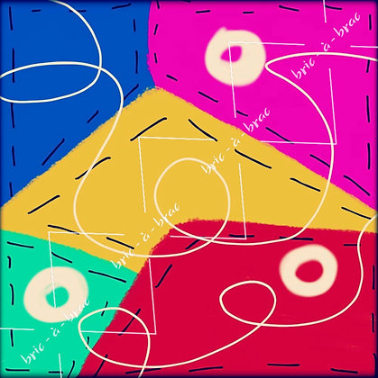 Assorted Collage Papers - Pack of 10 (i)