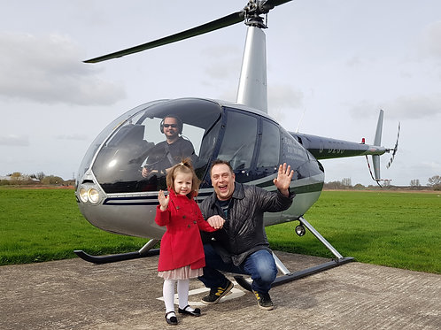 8 Mile Helicopter Buzz Flight