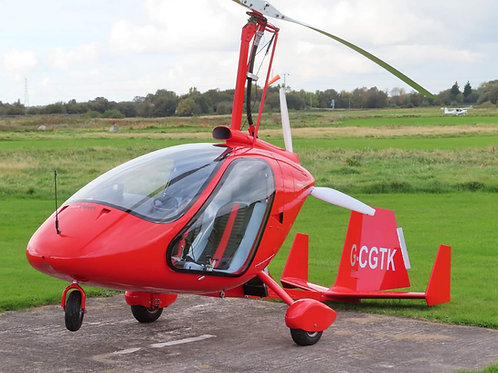 Enclosed Gyrocopter Trial Lessons