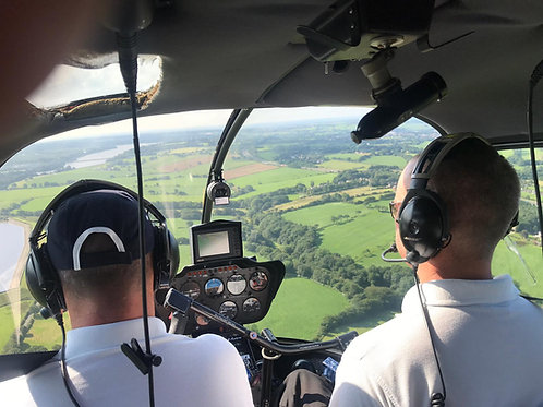 Helicopter Flying Lessons PLUS 1 Passenger