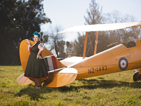 Pinup of the Month for May - Vienna De Havilland
