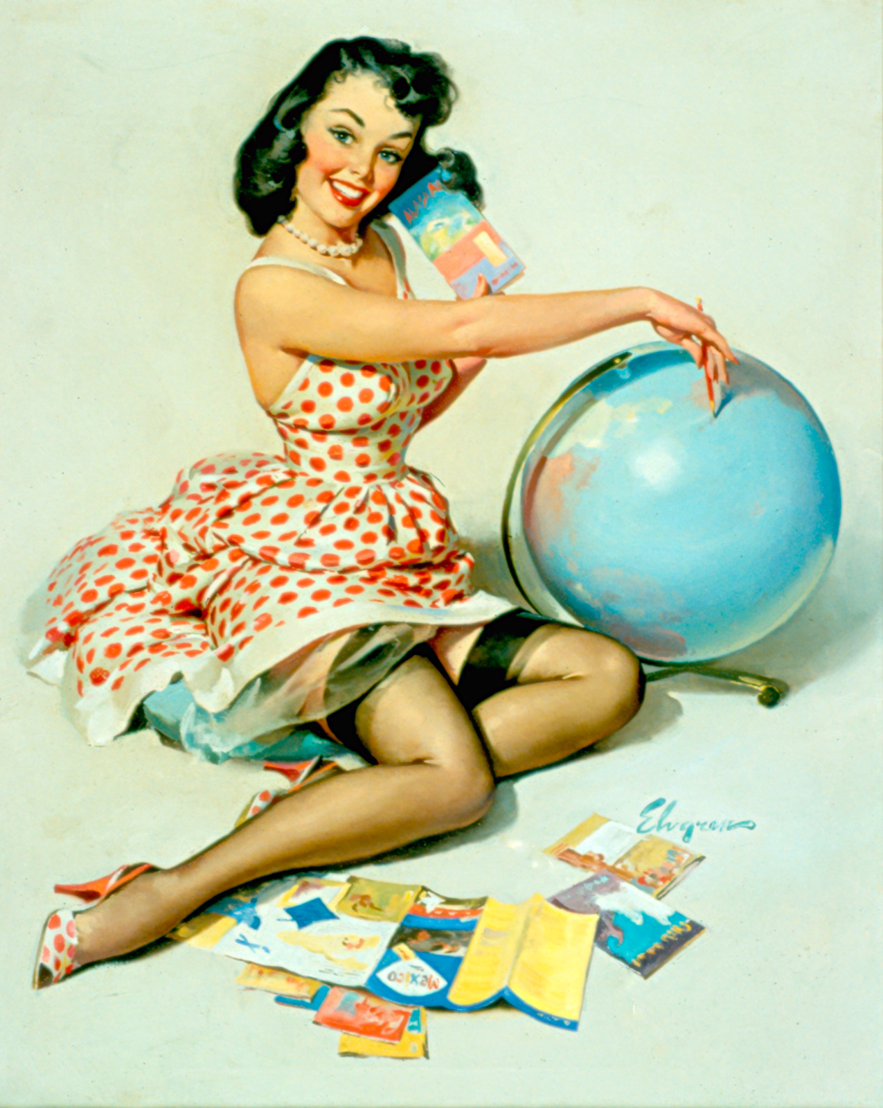 Pinups all over the world!