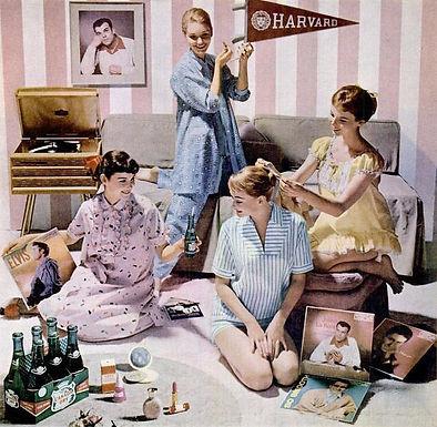 All around the world via facebook - Pinup Pyjama Party