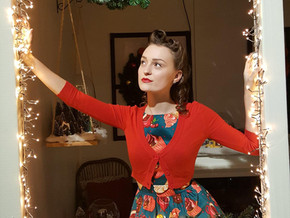 Holiday Pinup of the Month - Miss Amanda Alice