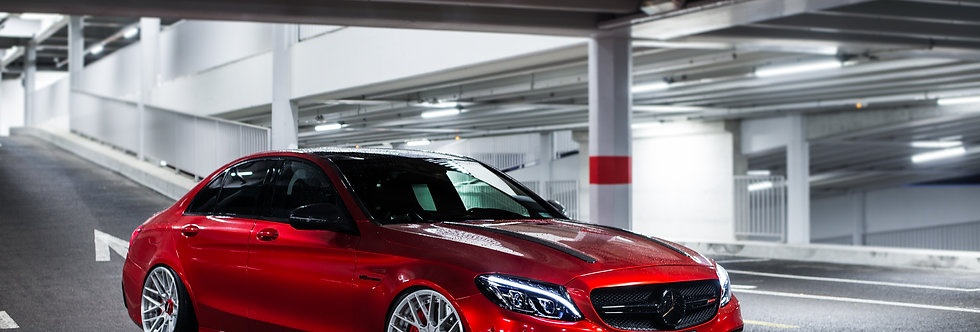 Mercedes C63 AMG Wallpaper