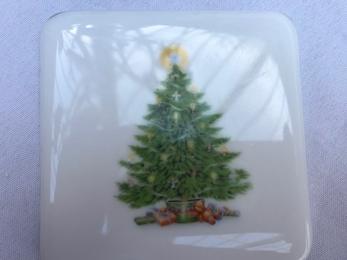 Coaster - christmas tree