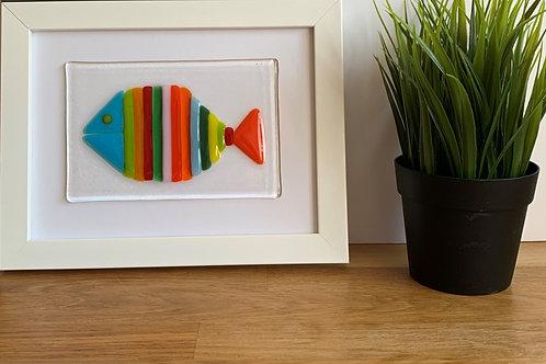 Multistriped fish picture