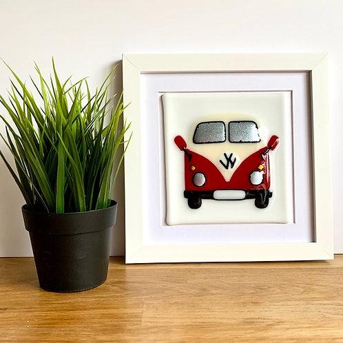 VW Campervan - red