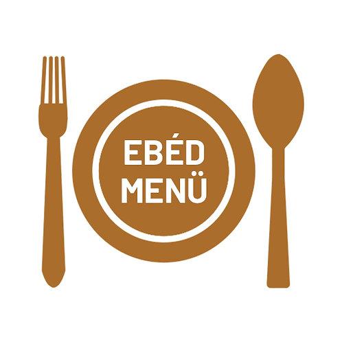 Ebéd Menü