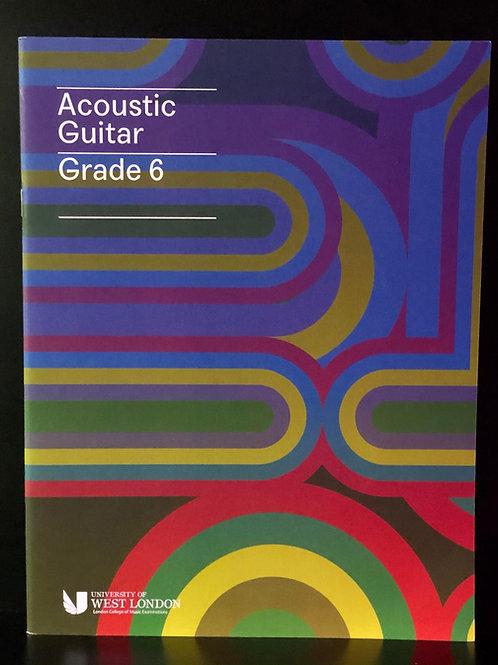 LCM Acoustic Guitar Handbook - Grade 6