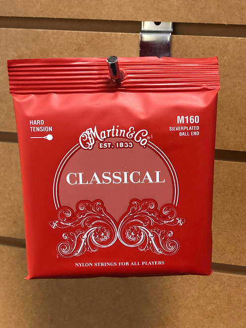 Martin Silver-Plated Ball End Classical Strings HARD Tension