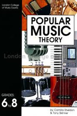 LCM/RGT Popular Music Theory - Grade 6-8