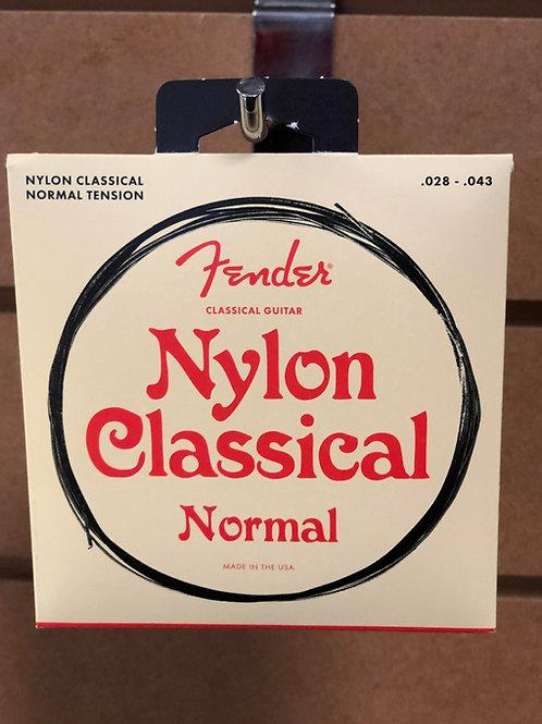 Fender Nylon Classical Strings Normal Tension