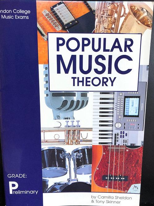 LCM/RGT Popular Music Theory - Preliminary