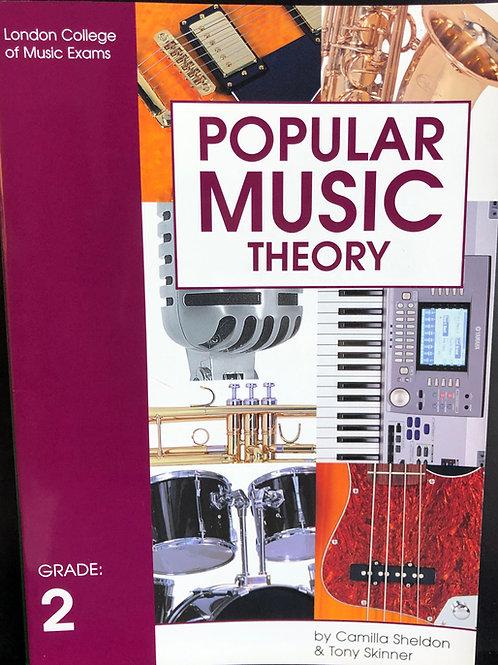 LCM/RGT Popular Music Theory - Grade2