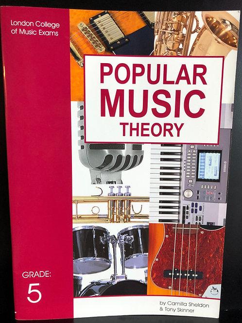 LCM/RGT Popular Music Theory - Grade 5