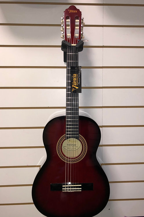 Valencia 3/4 guitar - Red Sunburst