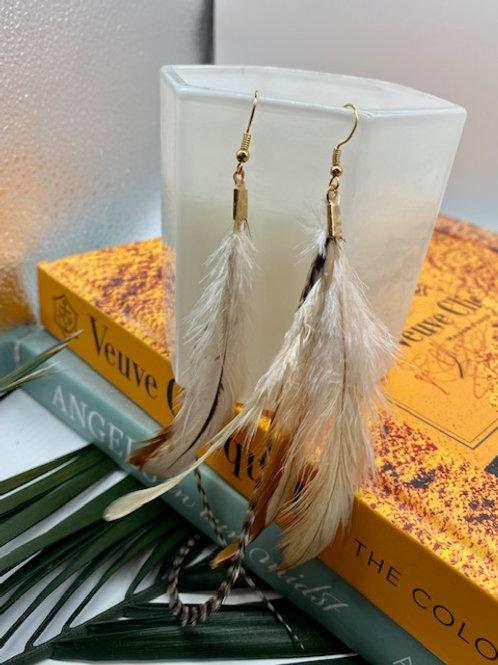 Ilona Feather Earring - WS