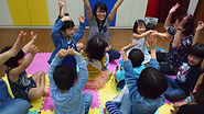 CHILDREN AT SUNDAY CLASS DURING CHILDREN'S CHURCH AT COVENANT VISION