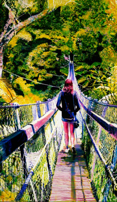 Bridge to Rivendell, Kaitoke Regional Park