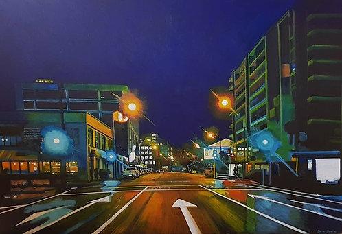 Lights on Wakefield Street